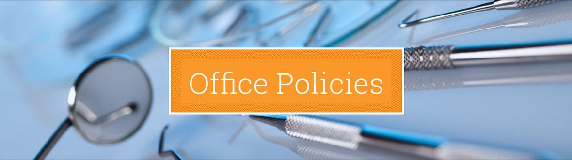 Banner picture for Office Policies Page