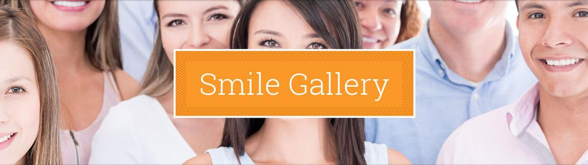 Banner picture for Smile Gallery Page